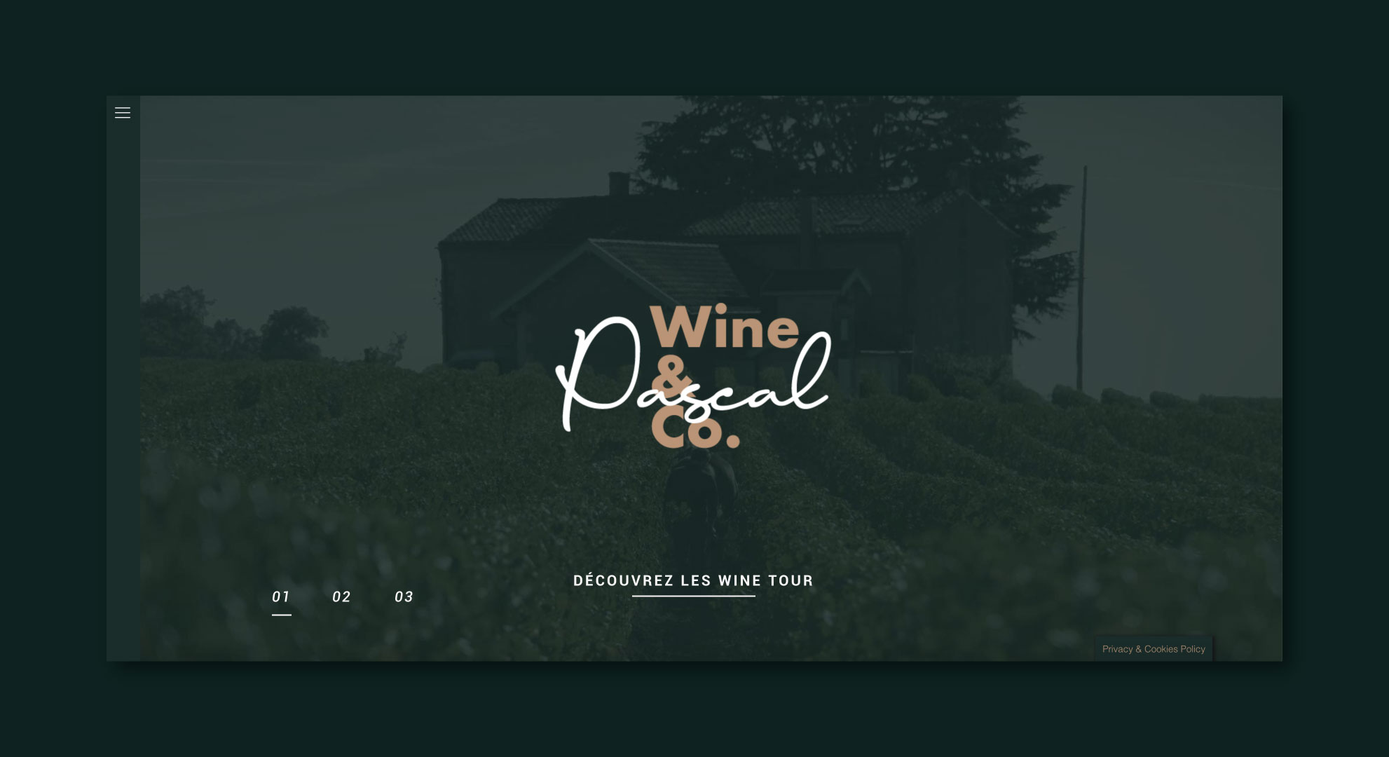 Pascal Wine And Co création de site internet